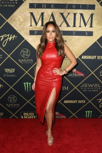 Adrienne Bailon - Maxim Super Bowl Party in Houston - February 4th 2017