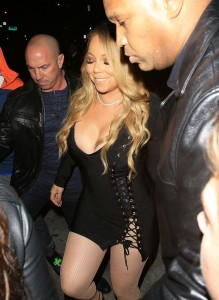 Mariah Carey - Spotted At Catch Restaurant in West Hollywood - February 4th 2017