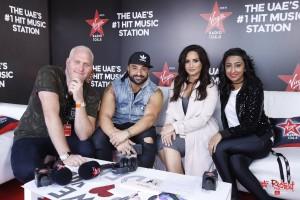 Demi Lovato - at Virgin Radio studios in Dubai - February 4th 2017