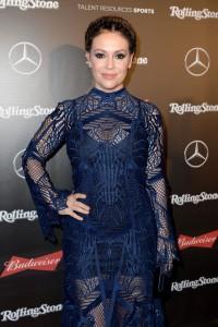 Alyssa Milano - Rolling Stone Live: Houston - February 4th 2017