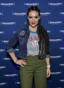 Alyssa Milano -               SiriusXM at Super Bowl LI Radio Row Houston February 3rd 2017.