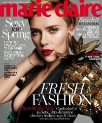 Scarlett Johansson - Marie Claire Magazine March 2017