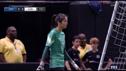 Zhao Lina - China PR women's soccer national team backup goalkeeper x24