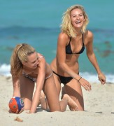 Lauren Ashley & Selena Weber | Bikini Candids in Miami | February 7 | 127 pics