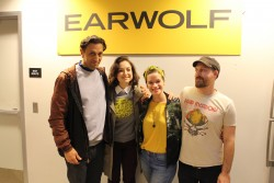 Milana Vayntrub on the Earwolf Podcast in Los Angeles - 2/8/17