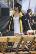Bella Hadid - Tommy Hilfiger 'Tommy Land' Fashion Show in Venice Beach 2/8/17