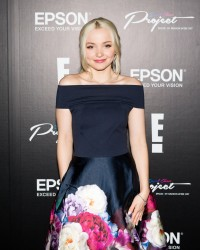Dove Cameron - Epson Digital Couture - Presentation in NYC 2/7/17
