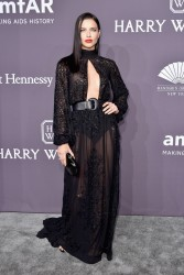 Adriana Lima - 19th Annual amfAR New York Gala 2/8/17