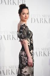 Dakota Johnson - 'Fifty Shades Darker' Premiere in London 2/9/17