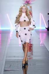 Paris Hilton - Christian Cowan Fall/Winter 2017 Fashion Show in NYC 2/9/17