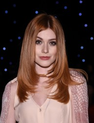 Katherine McNamara - Oday Shakar Fall 2017 Fashion Show in NYC 2/10/17