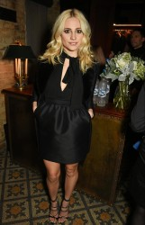 Pixie Lott - Pre-BAFTA dinner hosted by Weinstein, Burberry & Lebedev in London 2/10/17