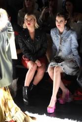 Barbara Palvin - Jeremy Scott show during New York Fashion Week 2/10/17