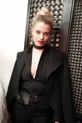 Hailey Clauson - W Magazine Celebrates the Relaunch of Fiorucci in NYC 2/10/17