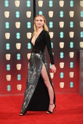 Sophie Turner - 70th Annual EE British Academy Film Awards - February 12, 2017