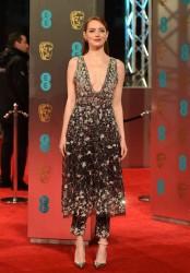 Emma Stone - British Academy Film Awards in London 2/12/17
