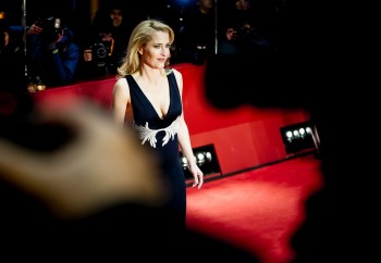 Gillian Anderson, Viceroy's house premiere in Berlin film festival, 12/02/2017