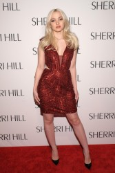Dove Cameron - Sherri Hill Fashion Show 2/13/17