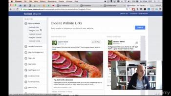 Создание рекламных объявлений в Facebook и Instagram, не похожих на рекламу (2016) Видеокурс