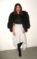 Priyanka Chopra - Prabal Gurung Show in NY 2/12/17