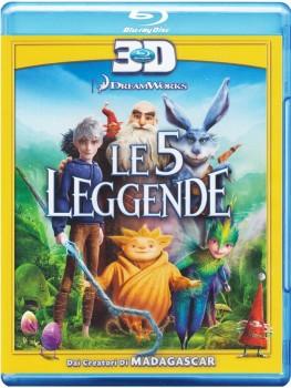 Le 5 leggende 3D (2012) Full Blu-Ray 2D+3D 40Gb AVCMVC ITA DD 5.1 ENG TrueHD 7.1 MULTI