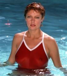 Susan Saradon - 1982 Harry Langdon Swimsuit & More Photoshoot (C-Throughs!)