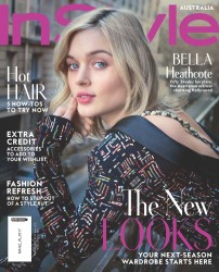 Bella Heathcote -                 InStyle Magazine (Australia) March 2017 David Mandelberg Photos.