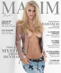 Nina Agdal - Maxim March 2017