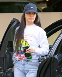 Kourtney Kardashian - Out in Woodland Hills 2/15/17