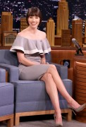 Jessica Biel @ The Tonight Show starring Jimmy Fallon | February 16 | 7 pics
