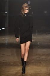 Gigi Hadid - Versus Versace Fall 2017 Fashion Show in London 2/18/17