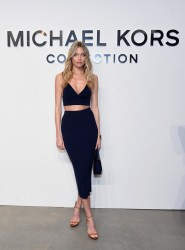 Martha Hunt - Michael Kors Collection Fall 2017 Fashion Show in NYC 2/15/17