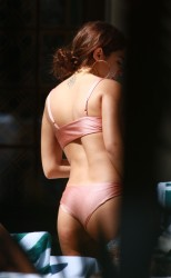 Chantel Jeffries - Bikini Candids in Miami 2/20/17
