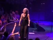 Teri Nunn of Berlin - 80's Cruise performance Feb 16 2017