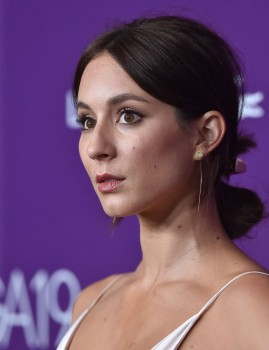 Troian Bellisario at the 19th CDGA (Costume Designers Guild Awards) 2/21/17