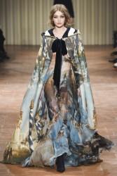 Gigi Hadid - Alberta Ferretti Fall 2017 Fashion Show in Milan 2/22/17