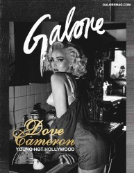 Dove Cameron as Marilyn Monroe in Galore magazine 2017 x22