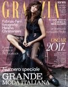 Helena Christensen -        Grazia Magazine (Italy) March 2017 Fabrizio Ferri Photos.