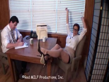 Rachel Steele (DID490 - Office Tease Taught / 4/13/2010)