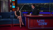 Aubrey Plaza @ The Late Show with Stephen Colbert | February 23 2017