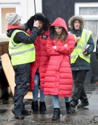 Brooke Vincent 'Coronation Street' on set 2