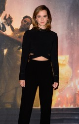 Emma Watson at the Beauty and the Beast Photocall in London - 2/24/17