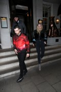 Sophie Turner - Out for dinner in London 2/23/17