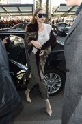 Gigi Hadid - Arriving at her hotel in Milan 2/25/17