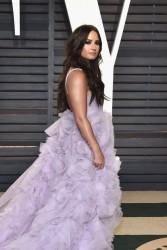 Demi Lovato - 2017 Vanity Fair Oscar Party Hosted By Graydon Carter 2/26/17