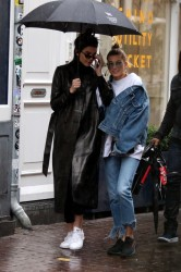 Kendall Jenner & Hailey Baldwin - Out in Amsterdam 2/27/17