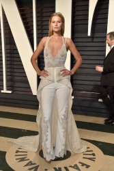 Toni Garrn - 2017 Vanity Fair Oscar Party 2/26/17