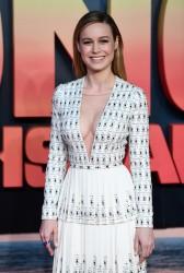 "Brie Larson - ""Kong: Skull Island"" Premiere in London 2/28/17"