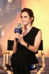 Emma Watson - 'Beauty and the Beast' Press Conference in Shanghai 2/28/17