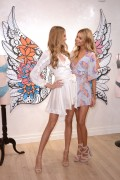 Stella Maxwell - VS Angels Launch The New Dream Angels Collection Victoria's Secret Fifth Avenue New York City February 28th 2017 With Romee Strijd.
